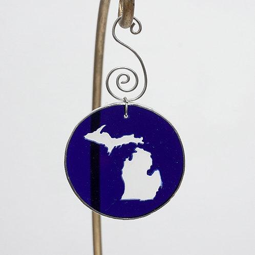 """""""Michigan"""" ornament"""