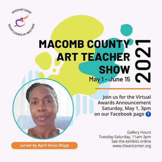 Macomb County Art Teacher Show