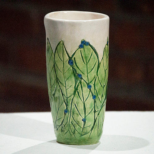 """Blueberry"" Vase"