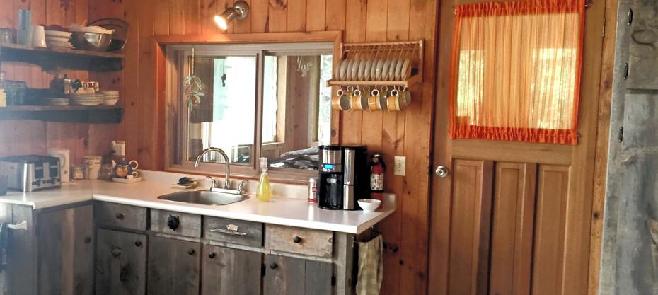 Our spacious, open concept kitchen.
