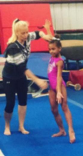 Floor routines in progress ❤️#gymnast #e