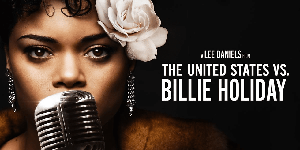 The United States vs Billie Holiday for Zonta