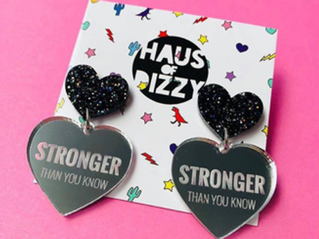 Stronger Earrings - Women's Legal Service QLD