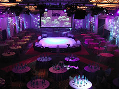 Awards Dinner in the Round Media West event production services