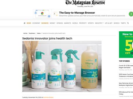 Sedania Innovator joins health tech