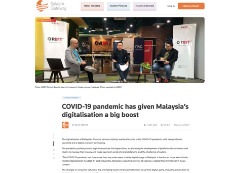 COVID-19 pandemic has given Malaysia's digitalisation a big boost