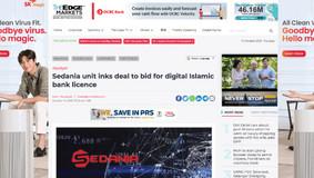 Sedania unit inks deal to bid for digital Islamic bank licence