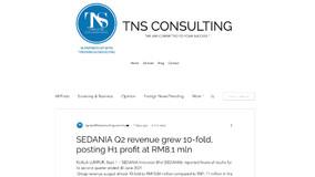SEDANIA Q2 revenue grew 10-fold, posting H1 profit at RM8.1 mln