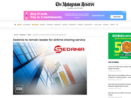 Sedania to remain leader for airtime sharing service