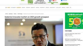 Sedania Innovator bullish on 2021 growth prospect