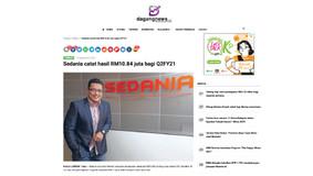 SEDANIA catat hasil RM10.84 juta bagi Q2FY21
