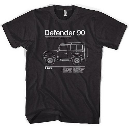 Defender 90 Tee