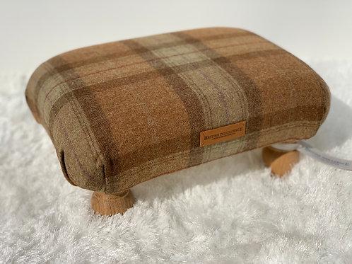 Skye Small Checked Footstool