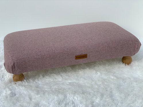 Sea Pink Large Footstool