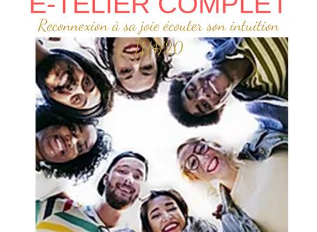 E-TELIER INTUITION RECONEXION A SA JOIE 11/04/20 10h30