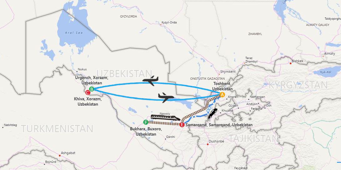 Heritage of Uzb 8 days