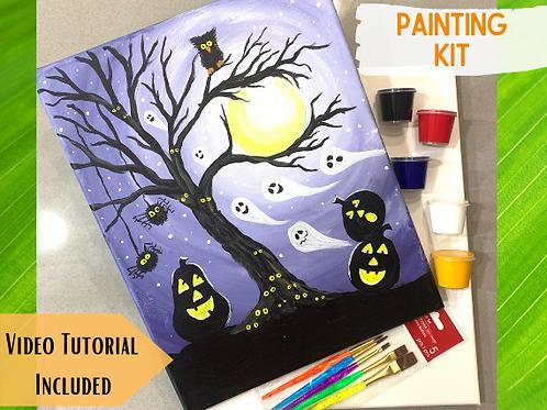 Painting Kit- Halloween Night