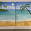 Thumbnail: Tropical Landscape Double Canvas