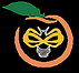 North Georgia Bee Farm Peach Logo