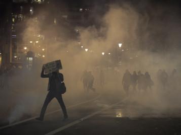 [PHOTOS] Une marche des libertés à l'âcre atmosphère