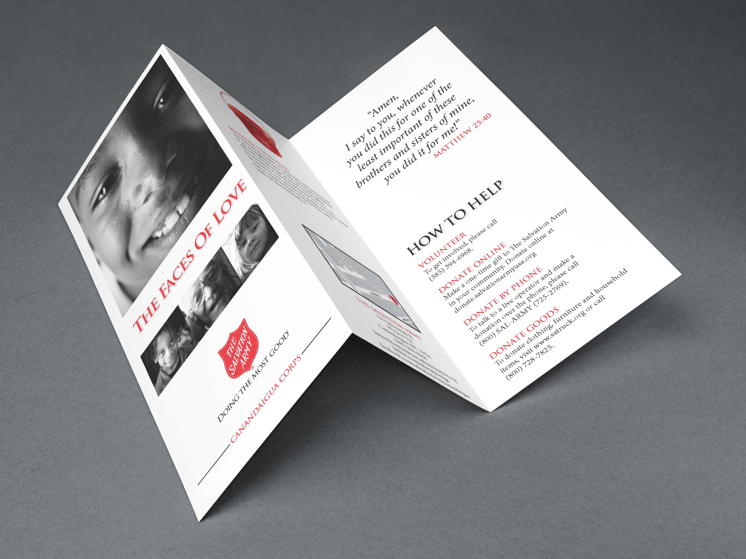 Salvation Army Brochure