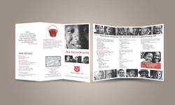 Salvation Army Trifold