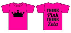 Think Pink ZTA Shirt