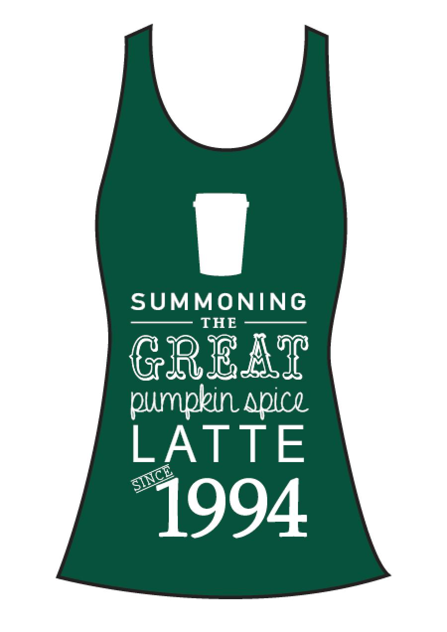 Latte Tank Green