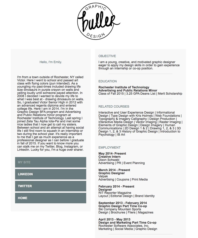 HTML Resume