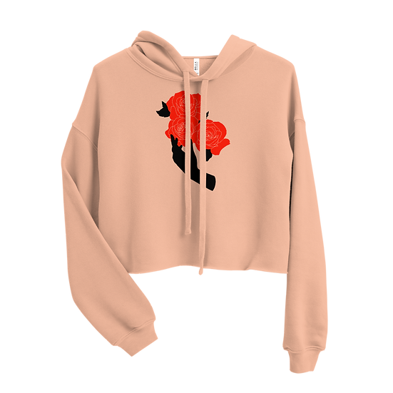 Handle With Care Cropped Hoodie