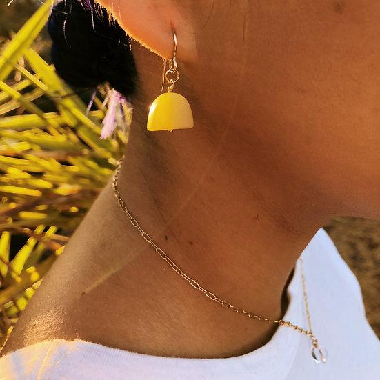 Semi Circle Earrings