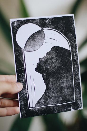 """Shadow"" Print"