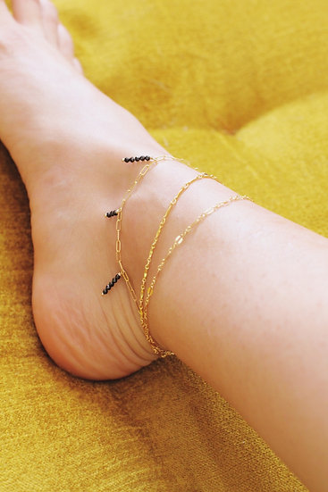 Gold Fill Anklet Chain