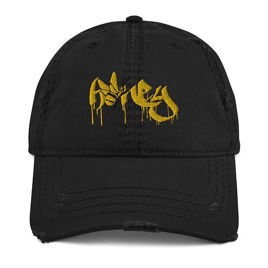 Distressed Honey Hat