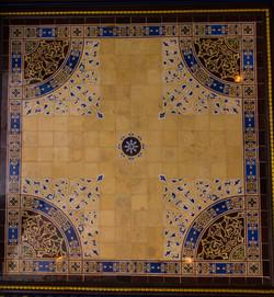 Minton Tile Ceiling [4203]
