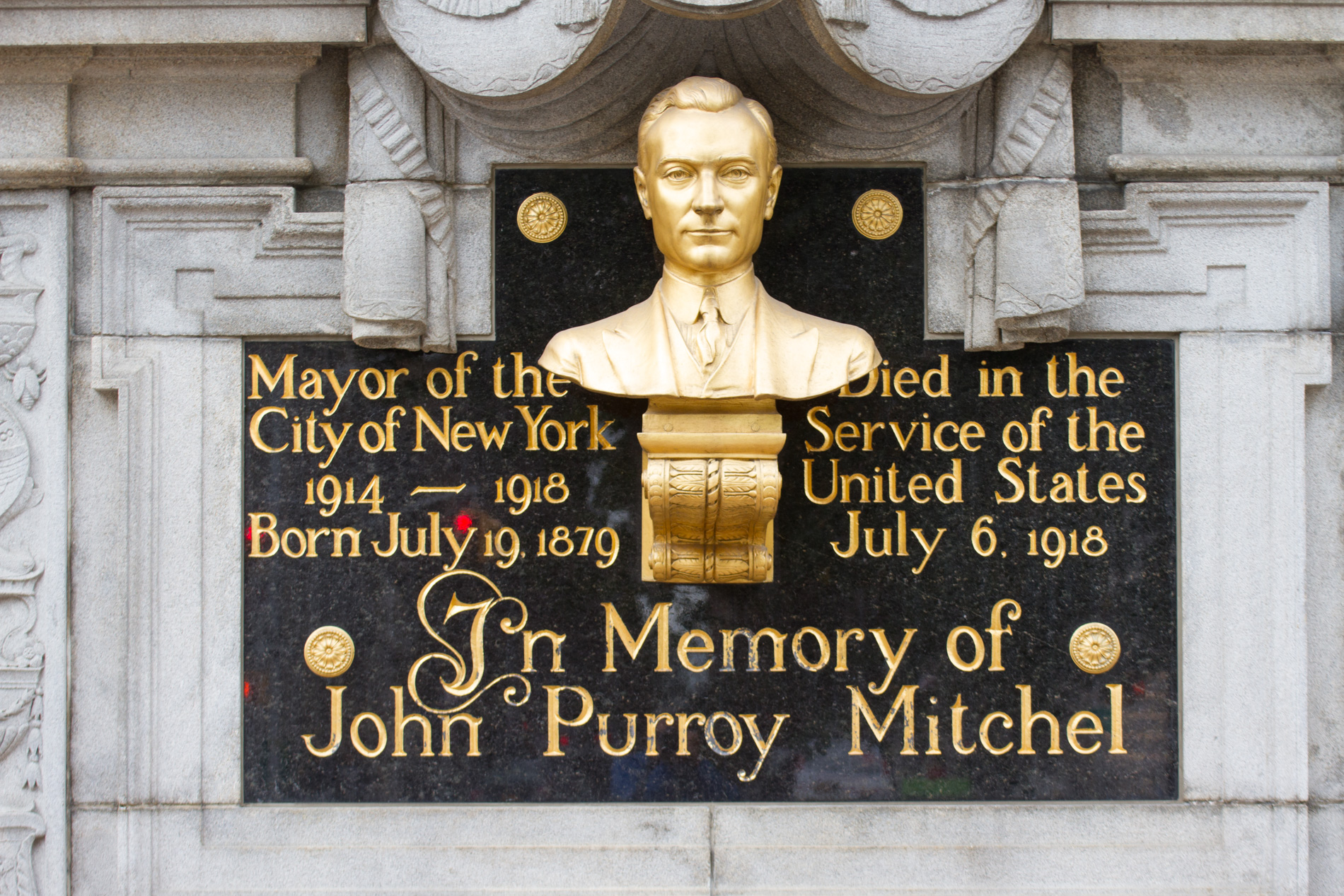 John Purroy Mitchel Memorial [4303]