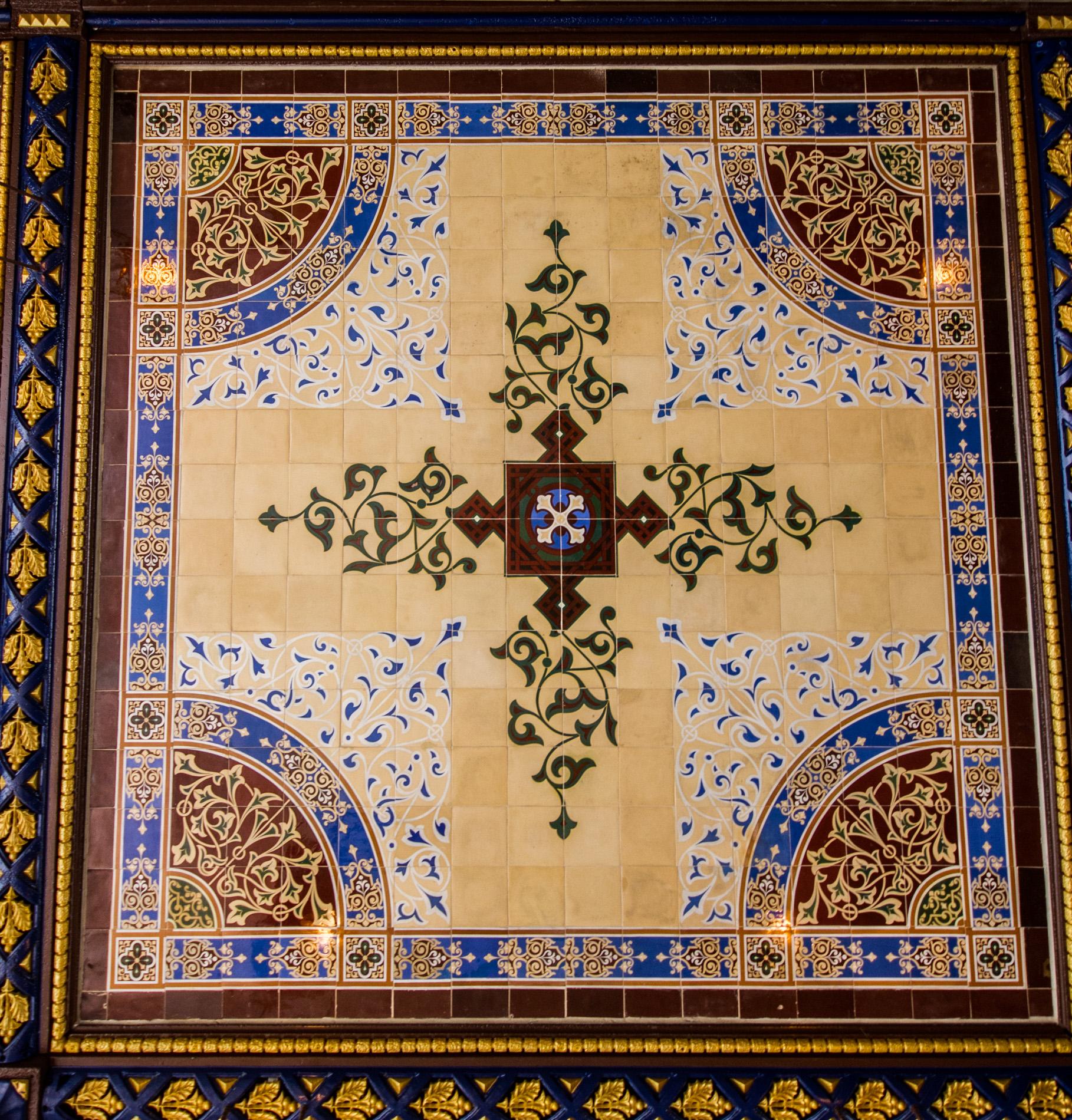 Minton Tile Ceiling [4204]