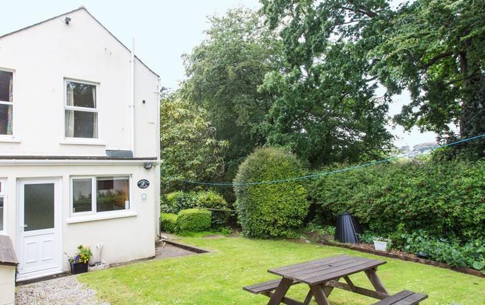 Penstraze Cottage Back Garden
