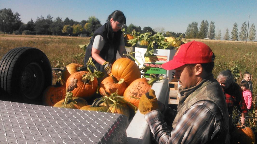Family at Harvest