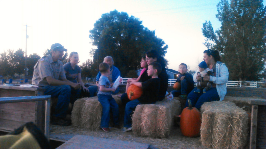 Hayride to the Patch