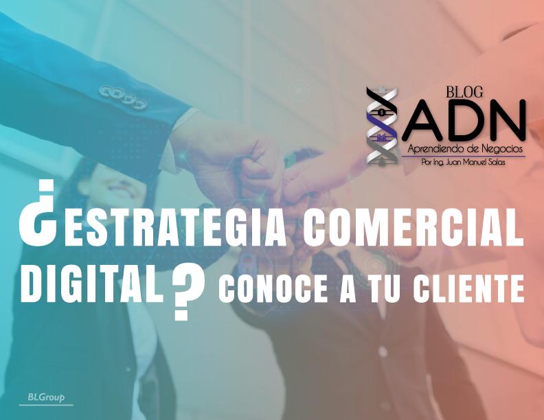 BLGroup ¿Estrategia Comercial Digital? Conoce a tu Cliente