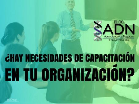 ¿Hay Necesidades de Capacitación en Tu Organización?
