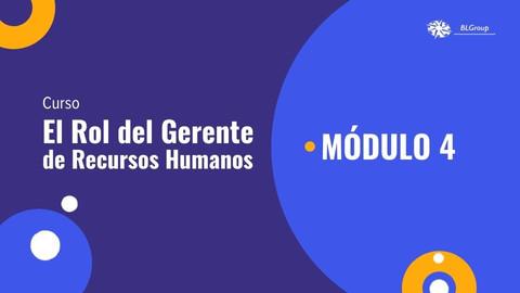 MÓDULO 4: AGENTE DE CAMBIO