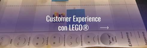 Customer Experience con Lego®
