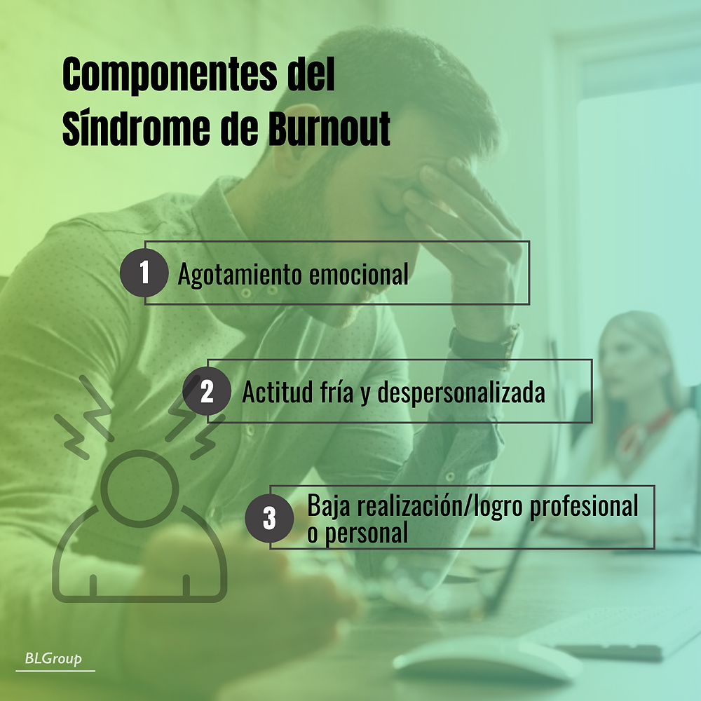 BLGroup Componentes del Síndrome de Burnout