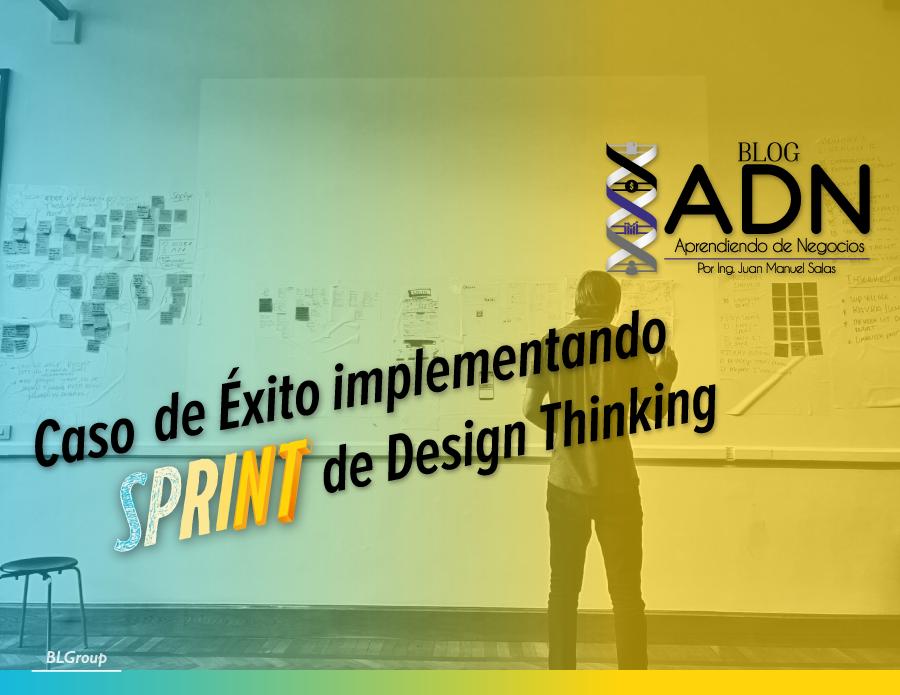 BLGroup Caso de Éxito usando SPRINT de Design Thinking