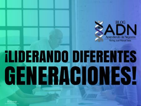 ¡Liderando Diferentes Generaciones!