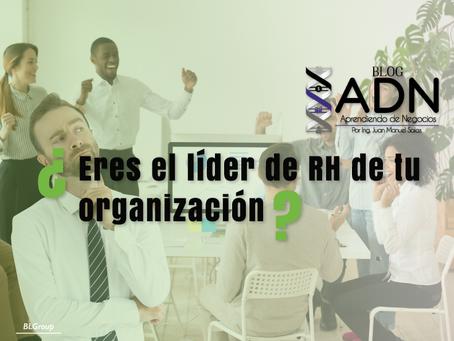 ¿Eres el Líder de Recursos Humanos en tu Organización?