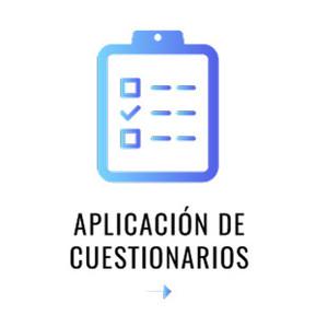 Aplicación de cuestionarios