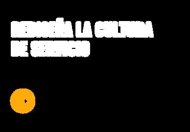 REDISEÑA LA CULTURA DE SERVICIO